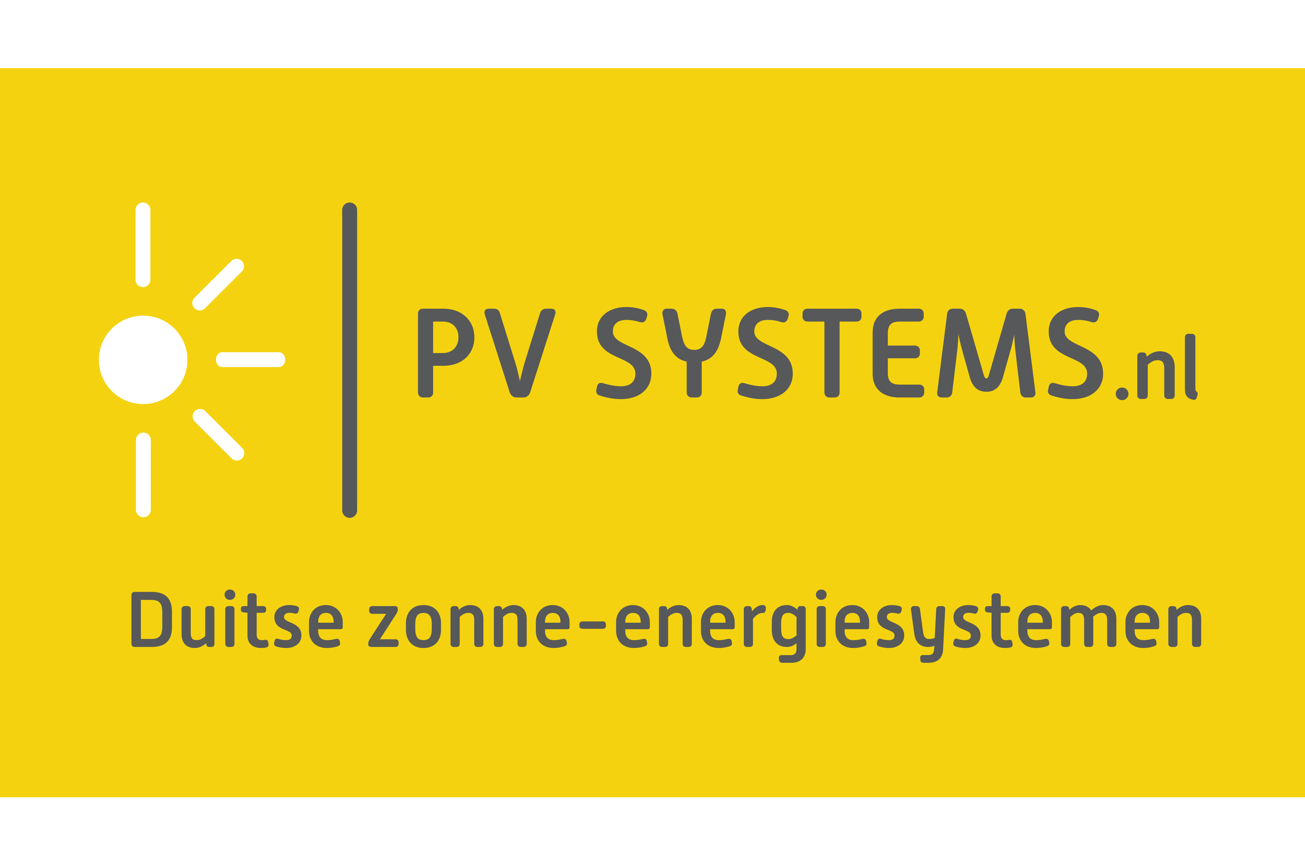 Logo PV systems_geel