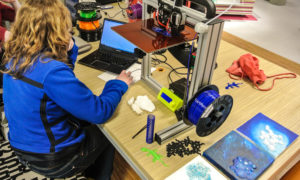 3D print en paint - De Meerpaal, Dronten