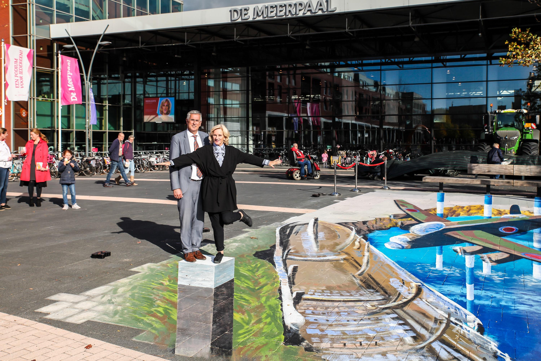 Fotografiewedstrijd - 3D-kunstwerk - Meerpaalplein - Ton van Amerongen - Tineke Schouten