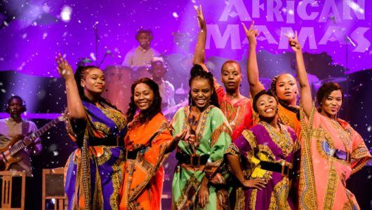 The African Mamas - Christmas under African Skies. Vrijdag 11 december in De Meerpaal Dronten.