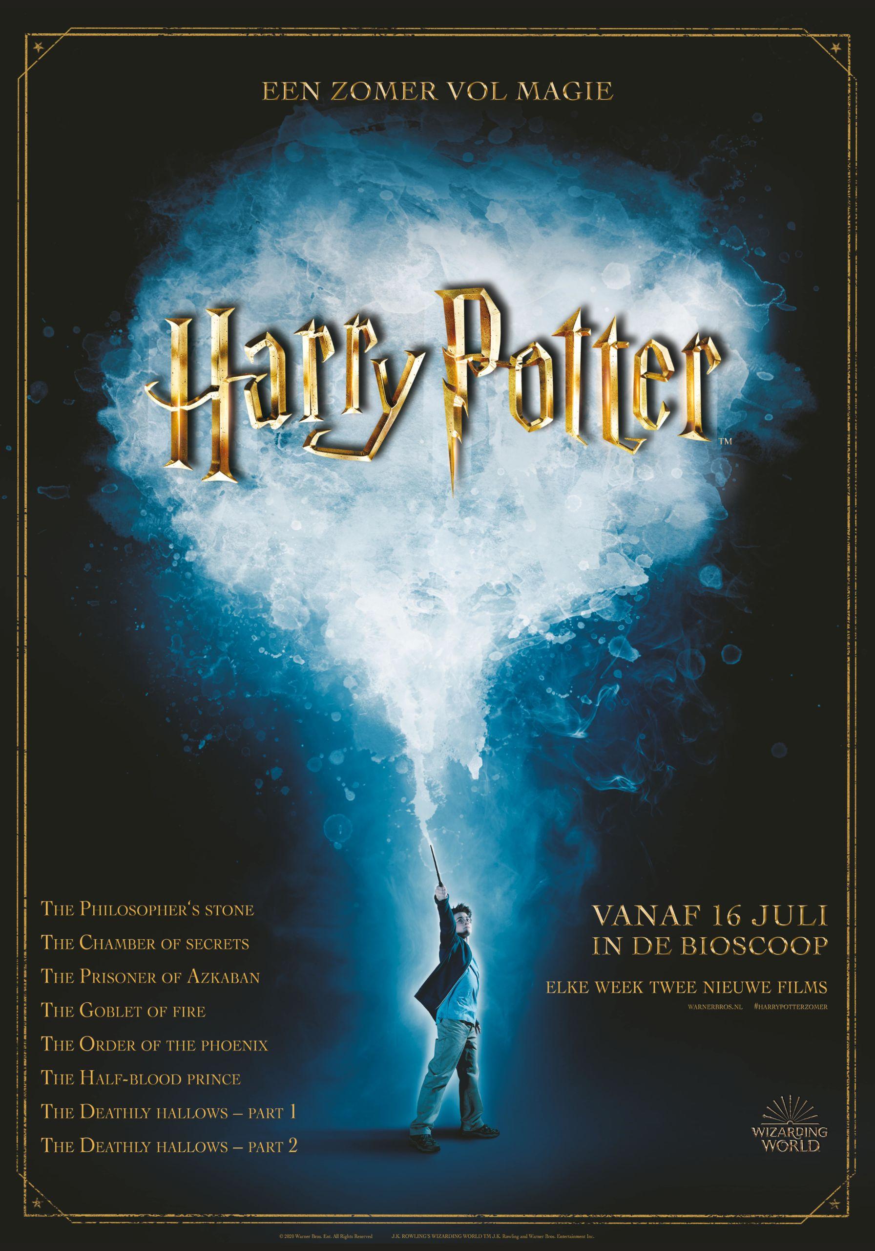 Alle Harry Potter films nu te zien in De Meerpaal Dronten